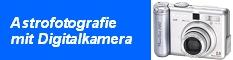 Astrofotografie mit Digitalkamera